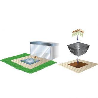 PVC форма за езера Модел